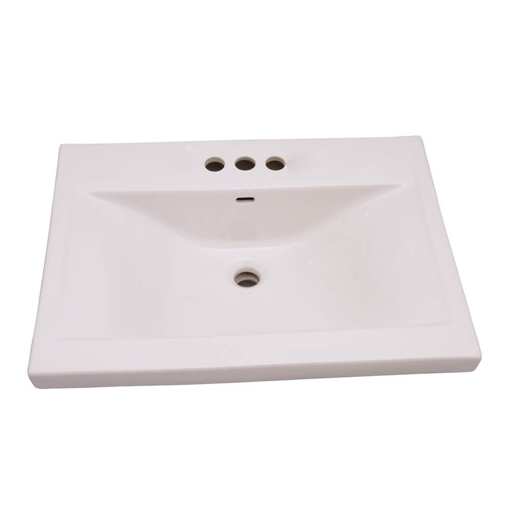 Barclay Wall Mount Bathroom Sinks item 4-264WH