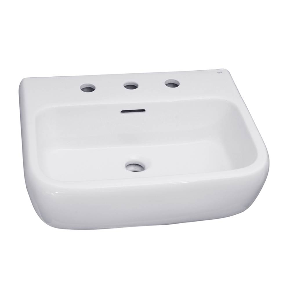 Barclay Wall Mount Bathroom Sinks item 4-958WH
