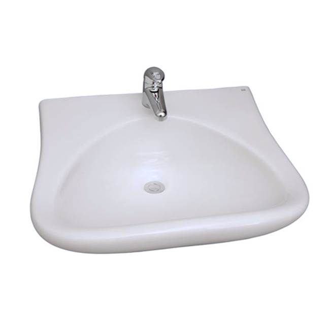 Barclay Wall Mount Bathroom Sinks item 4-901WH