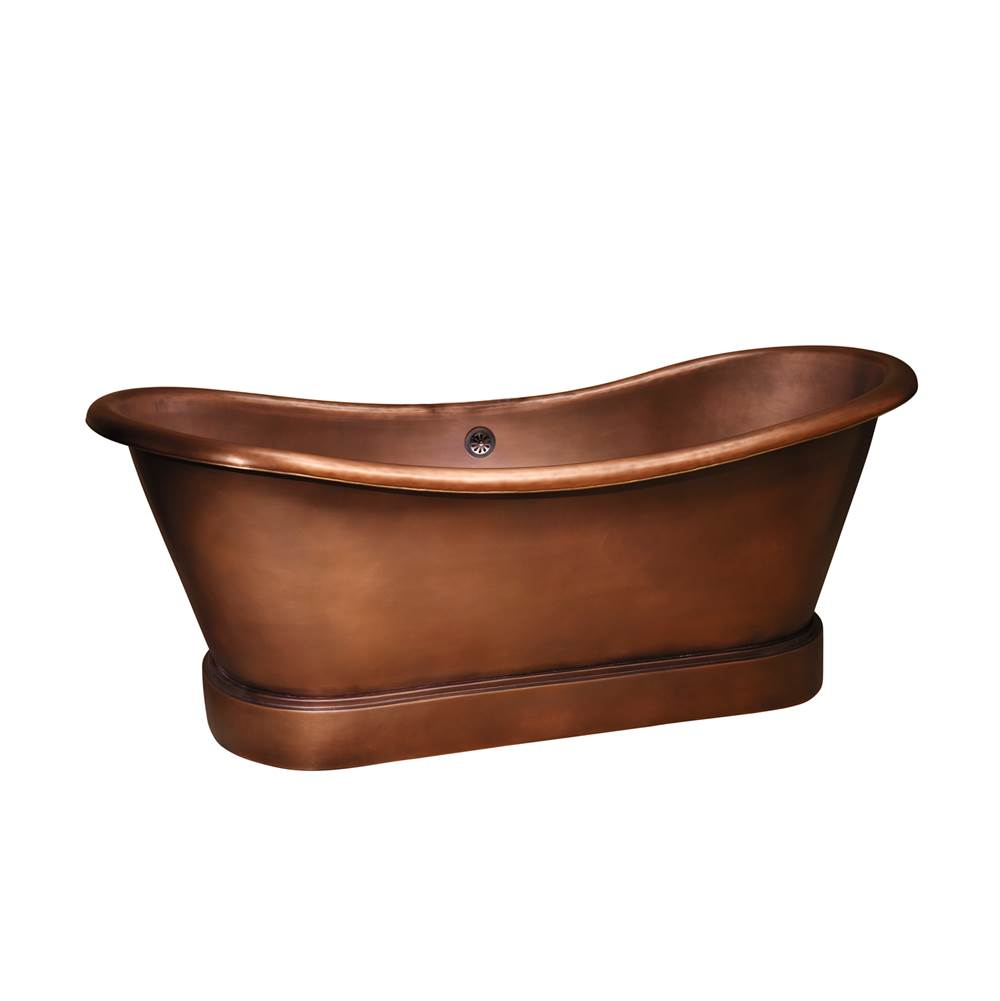 Barclay Free Standing Soaking Tubs item COTDSN66L-SAC