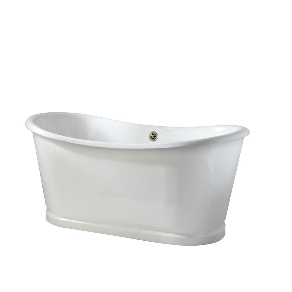 Barclay Free Standing Soaking Tubs item CTBATN67D-WH