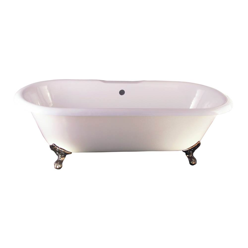 Barclay Clawfoot Soaking Tubs item CTDRN-WH-SN