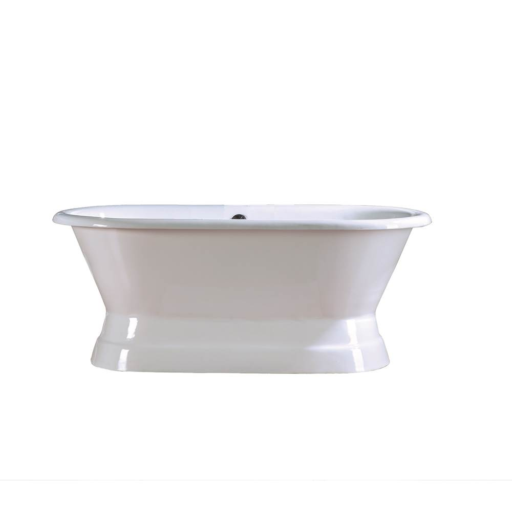 Barclay Free Standing Soaking Tubs item CTDR7H60B-WH