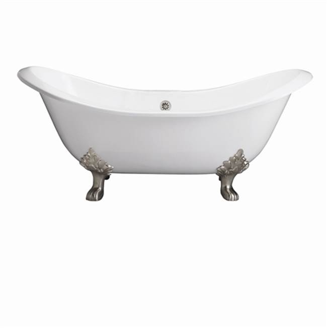Barclay Clawfoot Soaking Tubs item CTDSH-WH-ORB