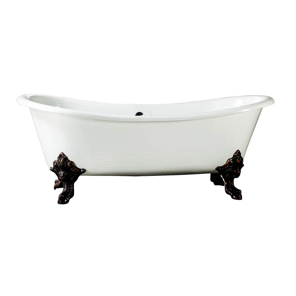 Barclay Clawfoot Soaking Tubs item CTDSN73L-WH-BN