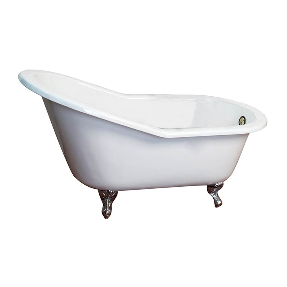 Barclay Clawfoot Soaking Tubs item CTS7H63-WH-PB