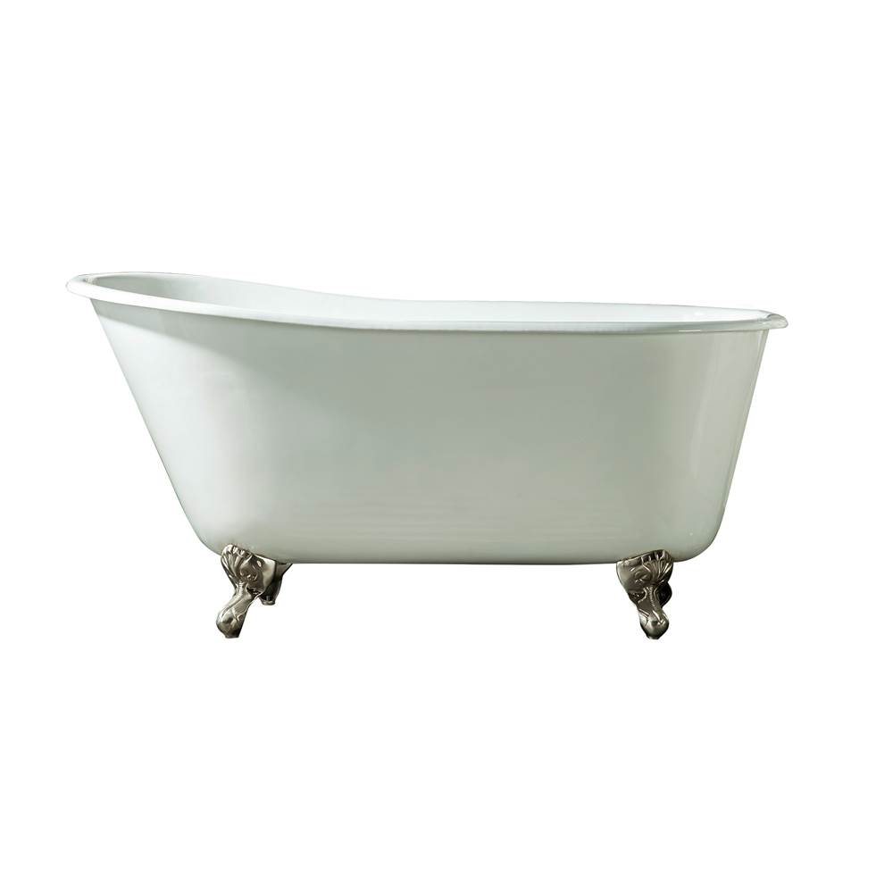 Barclay Clawfoot Soaking Tubs item CTSN53-WH-CP