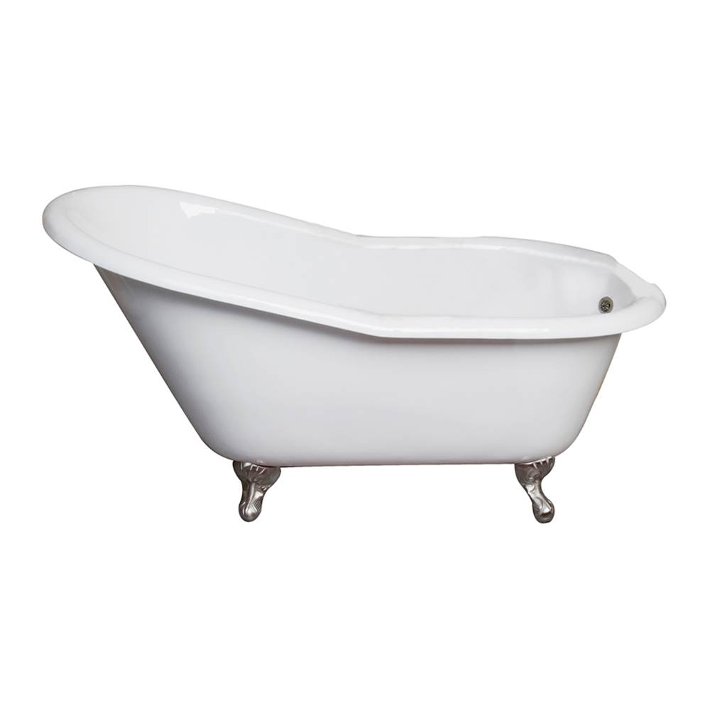 Barclay Clawfoot Soaking Tubs item CTSN62-WH-CP