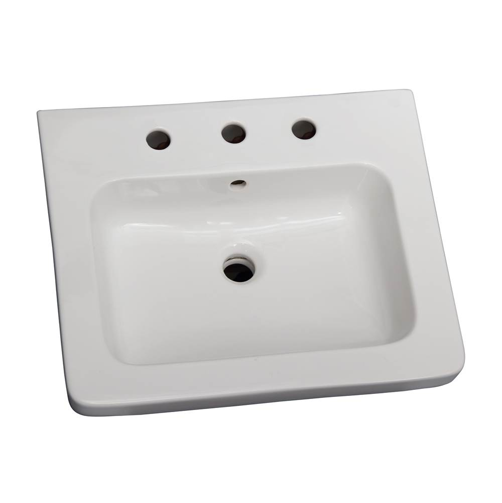 Barclay Wall Mounted Bathroom Sink Faucets item 4-1088WH