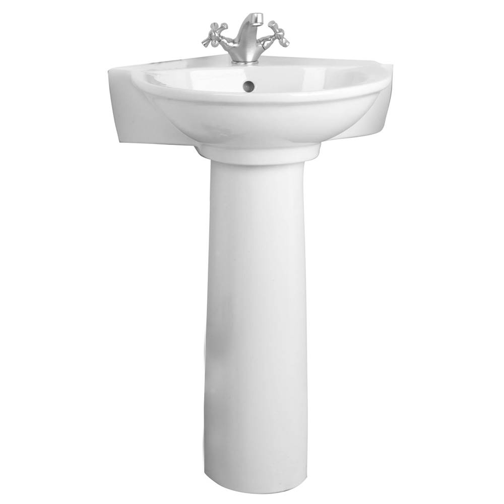 Barclay Complete Pedestal Bathroom Sinks item B/3-221WH