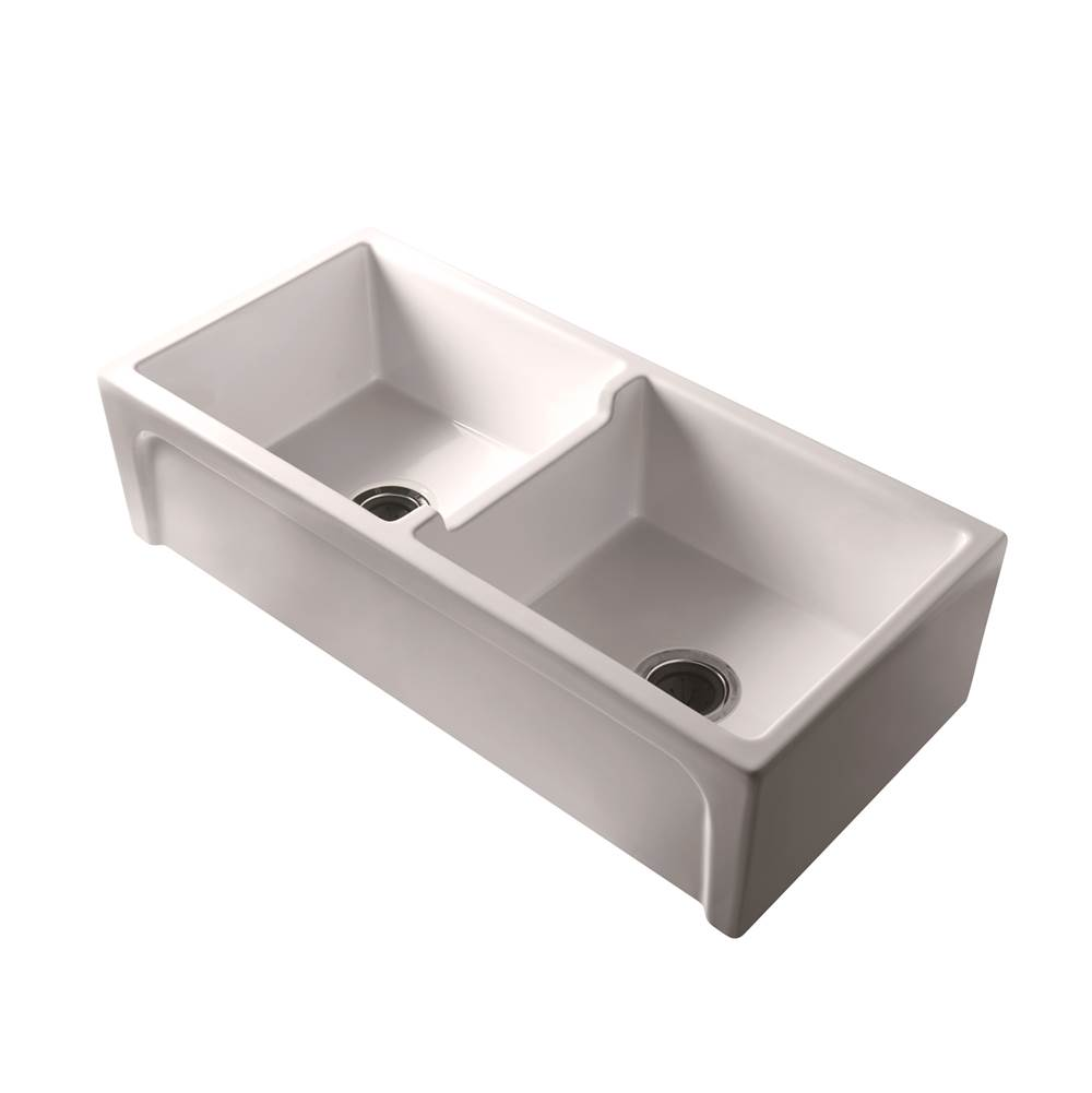 Barclay Farmhouse Kitchen Sinks item FSDB1552-BQ