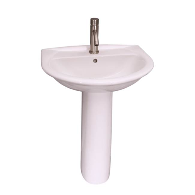 Barclay Complete Pedestal Bathroom Sinks item 3-304WH