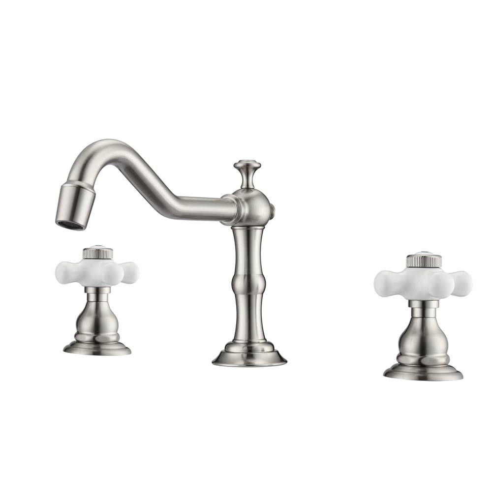 Barclay Widespread Bathroom Sink Faucets item LFW102-PC-BN