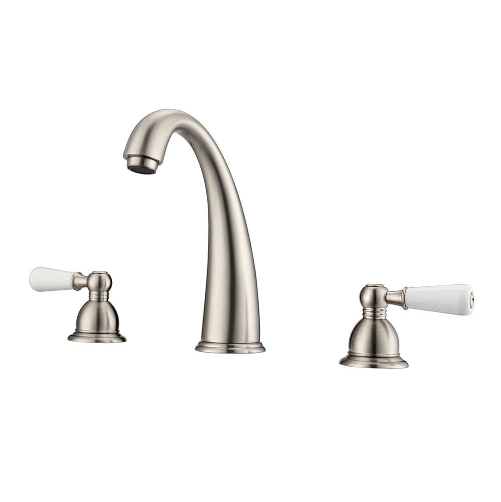 Barclay Widespread Bathroom Sink Faucets item LFW106-PL-BN
