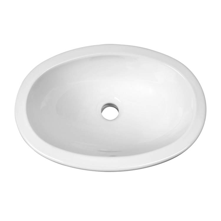 Barclay Wall Mount Bathroom Sinks item 4-525WH