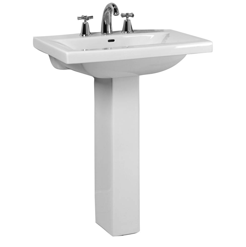Barclay Vessel Only Pedestal Bathroom Sinks item 3-264WH