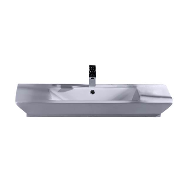 Barclay Wall Mount Bathroom Sinks item 4-363WH
