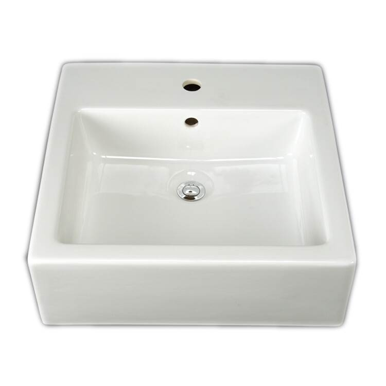 Barclay Vessel Bathroom Sinks item 4-464WH