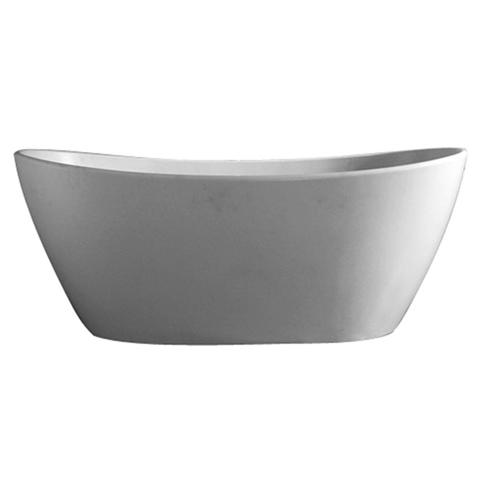 Barclay Free Standing Soaking Tubs item RTDSN64-OF-WH