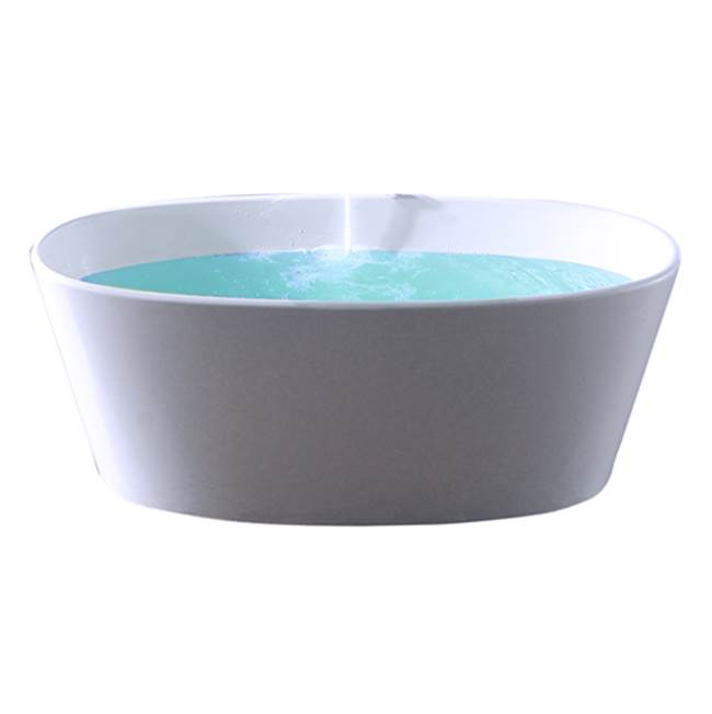 Barclay Free Standing Soaking Tubs item RTOVN62-WH