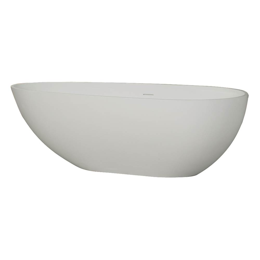 Barclay Free Standing Soaking Tubs item RTOVN67-OF-WH