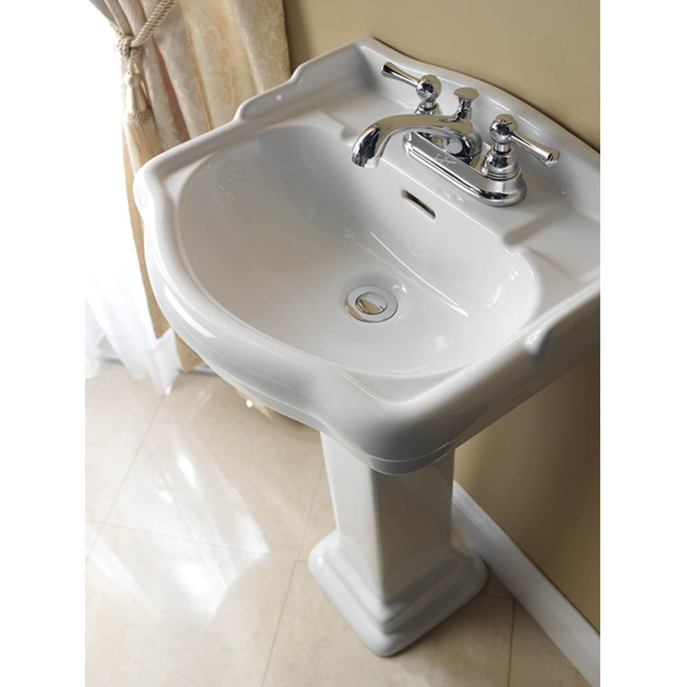 Barclay Complete Pedestal Bathroom Sinks item B/3-874WH