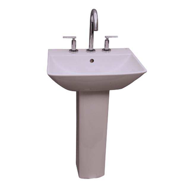 Barclay Complete Pedestal Bathroom Sinks item B/3-778WH