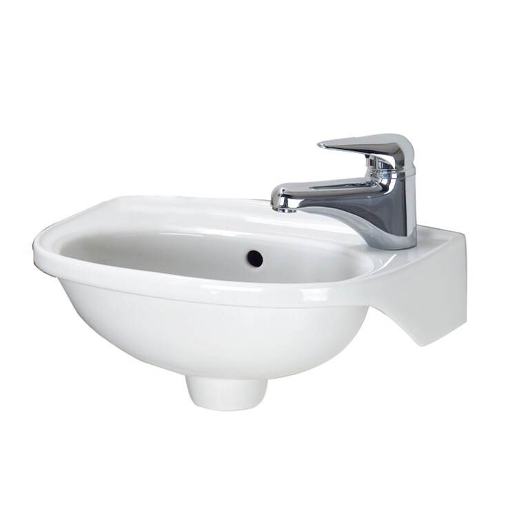 Barclay Wall Mount Bathroom Sinks item 4-551WH