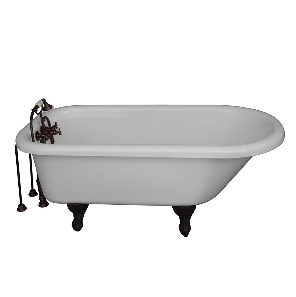 Barclay Clawfoot Soaking Tubs item TKADTR60-WORB2