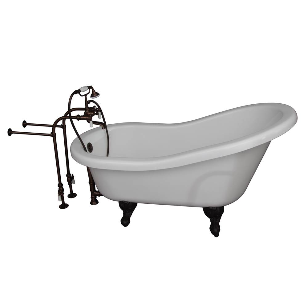 Barclay Clawfoot Soaking Tubs item TKADTS60-WORB1