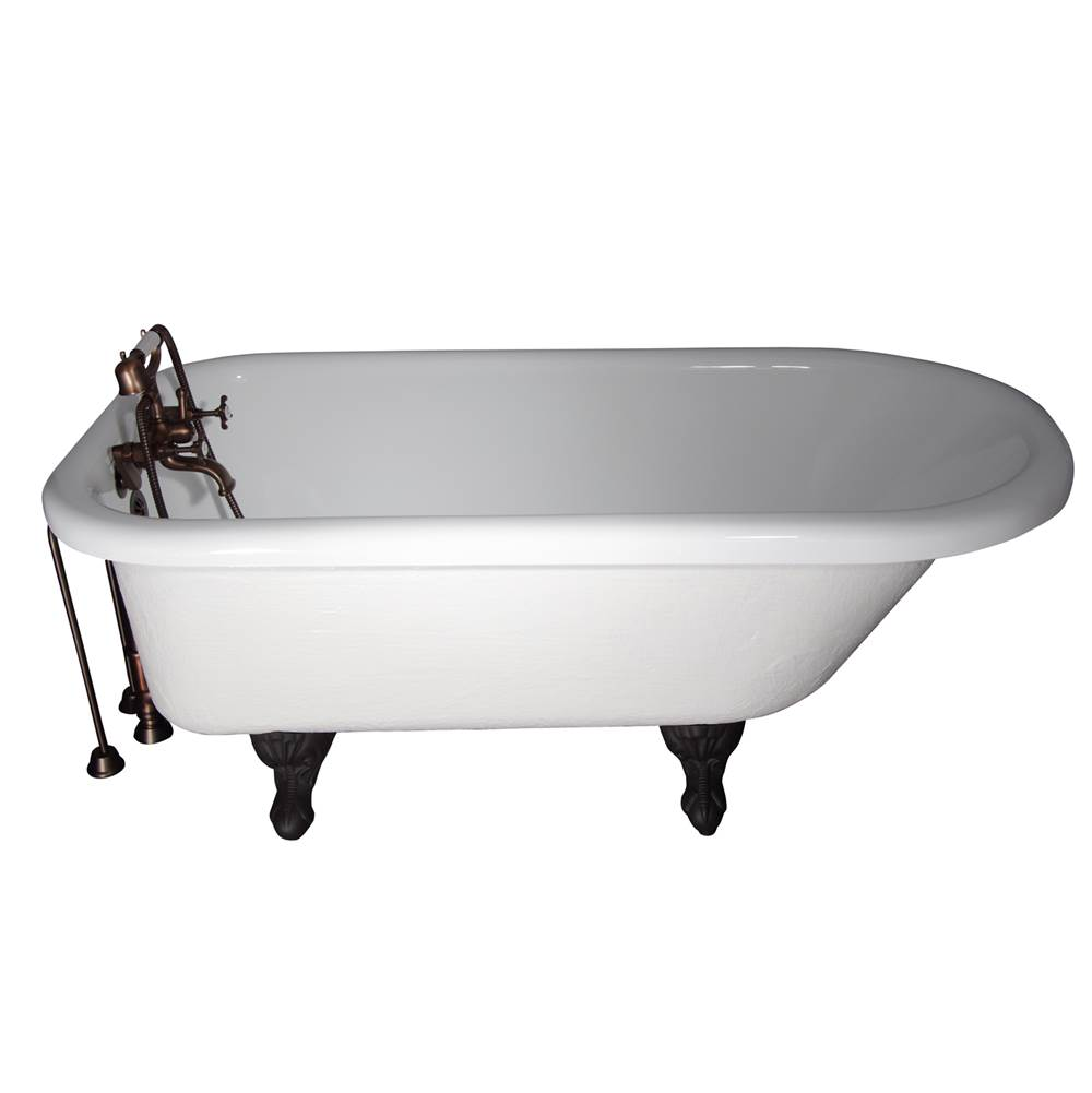 Barclay Clawfoot Soaking Tubs item TKATR60-WORB3