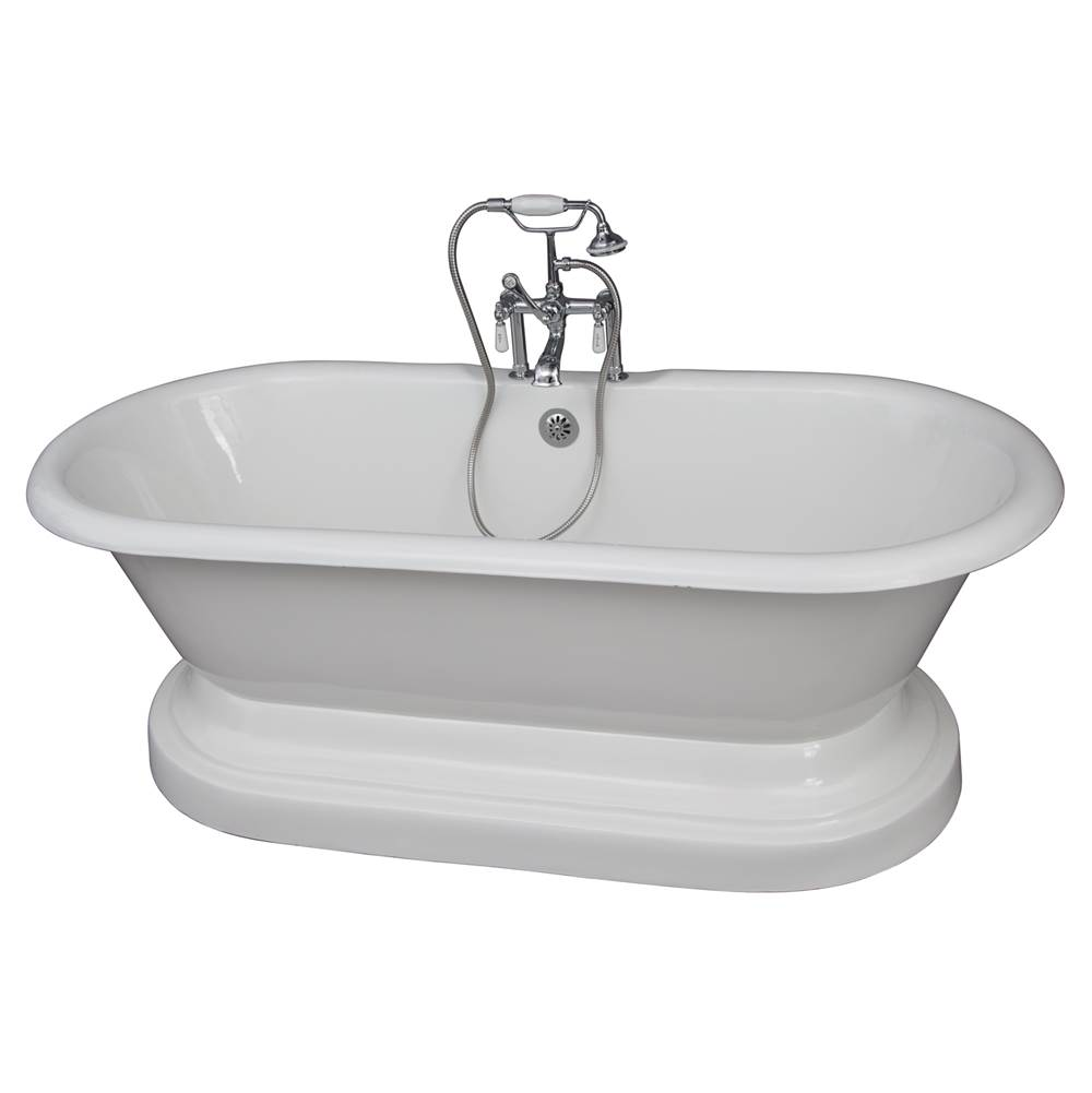 Barclay Free Standing Soaking Tubs item TKCTDRHB-CP1