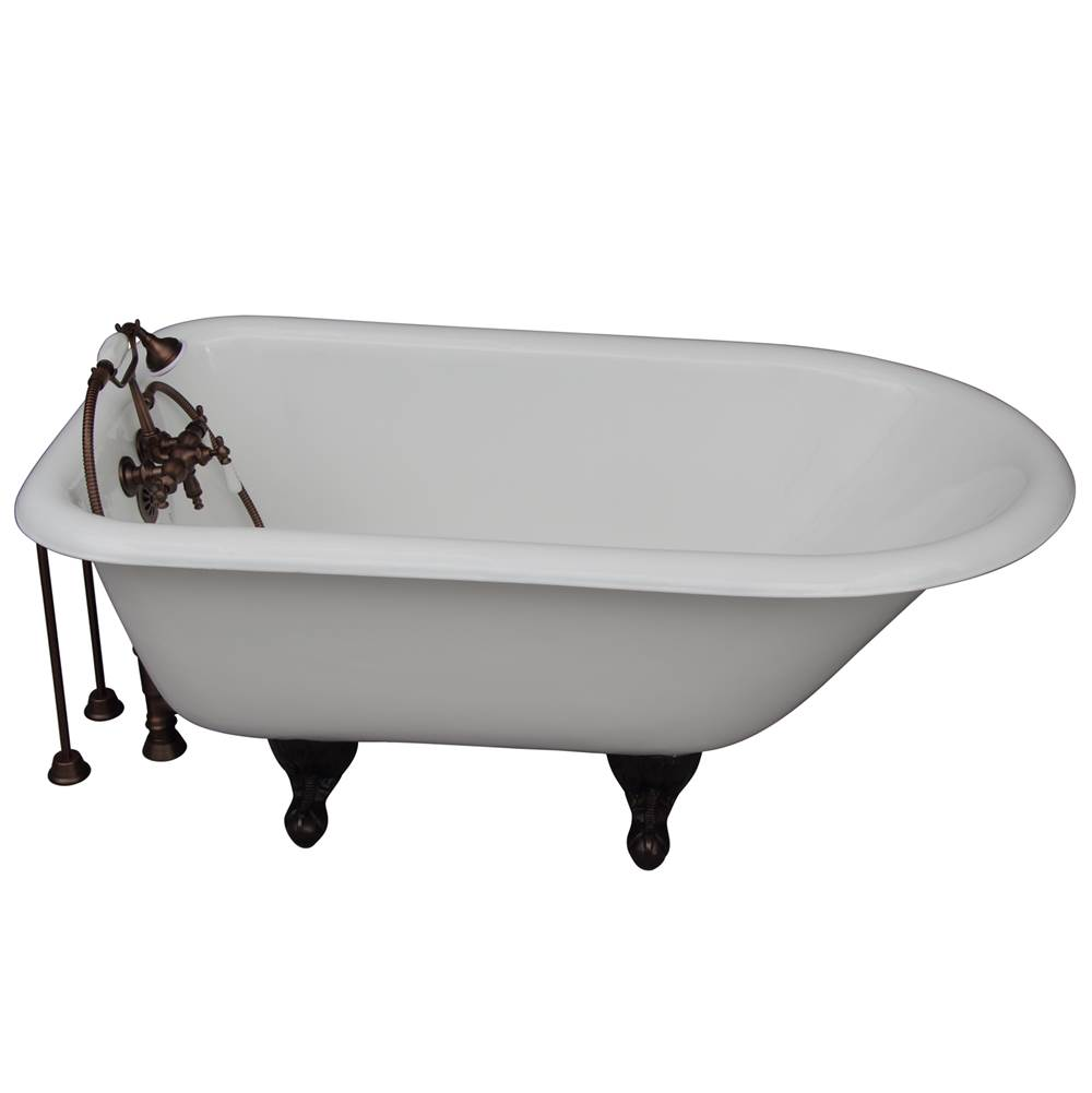 Barclay Clawfoot Soaking Tubs item TKCTRH54-ORB2