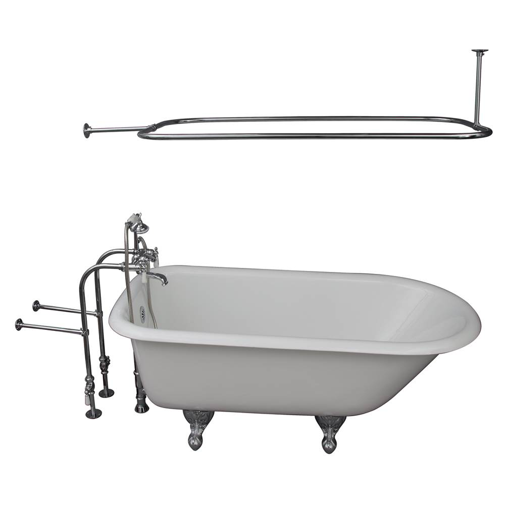 Barclay Clawfoot Soaking Tubs item TKCTRN60-CP3