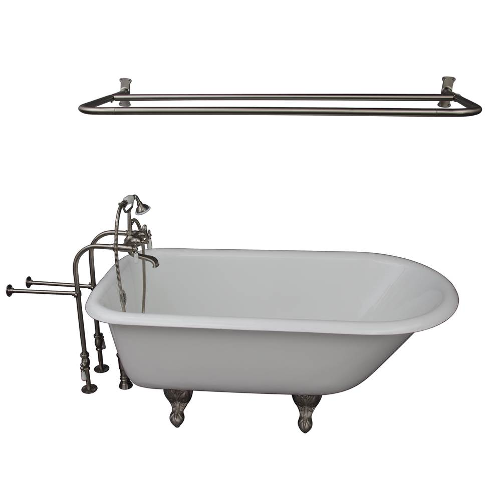 Barclay Clawfoot Soaking Tubs item TKCTRN60-SN5