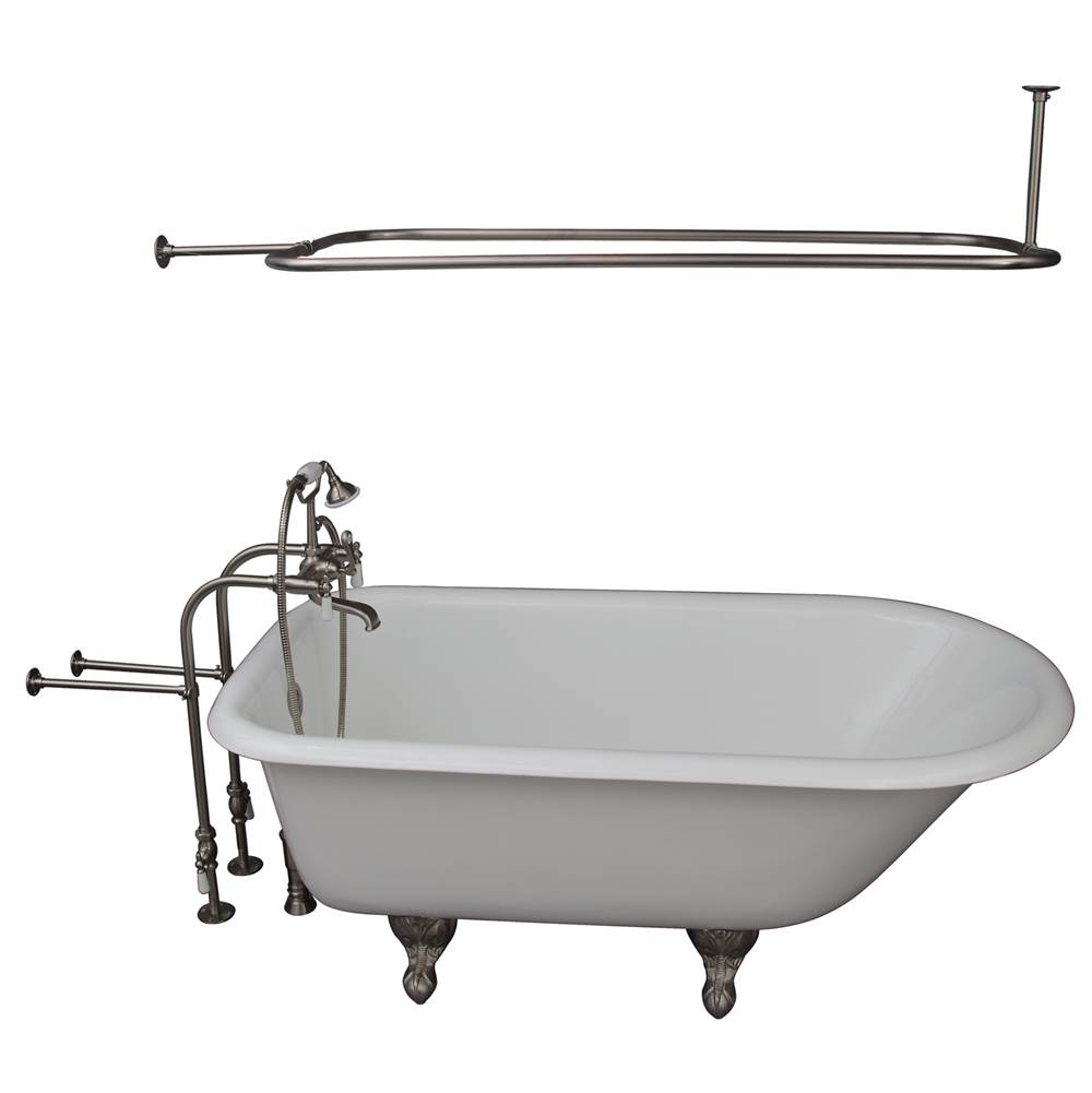 Barclay Clawfoot Soaking Tubs item TKCTRN67-SN3