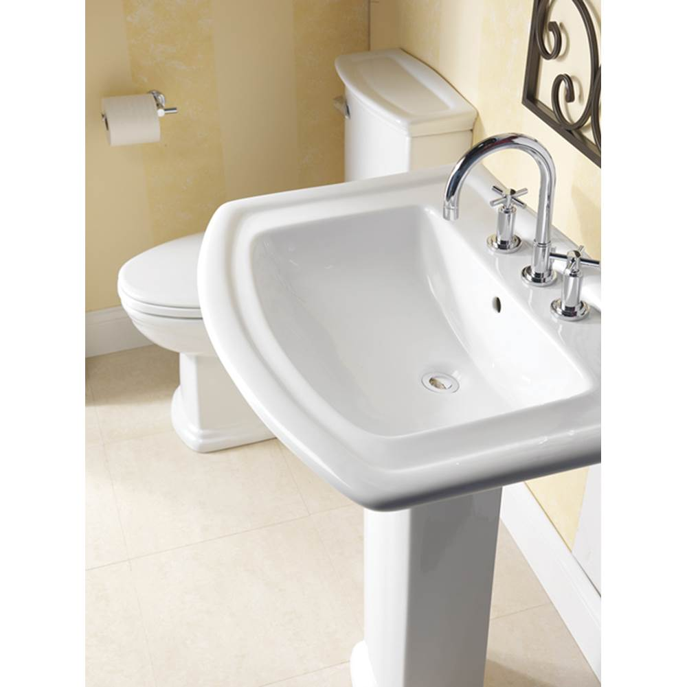 Barclay Complete Pedestal Bathroom Sinks item 3-394WH