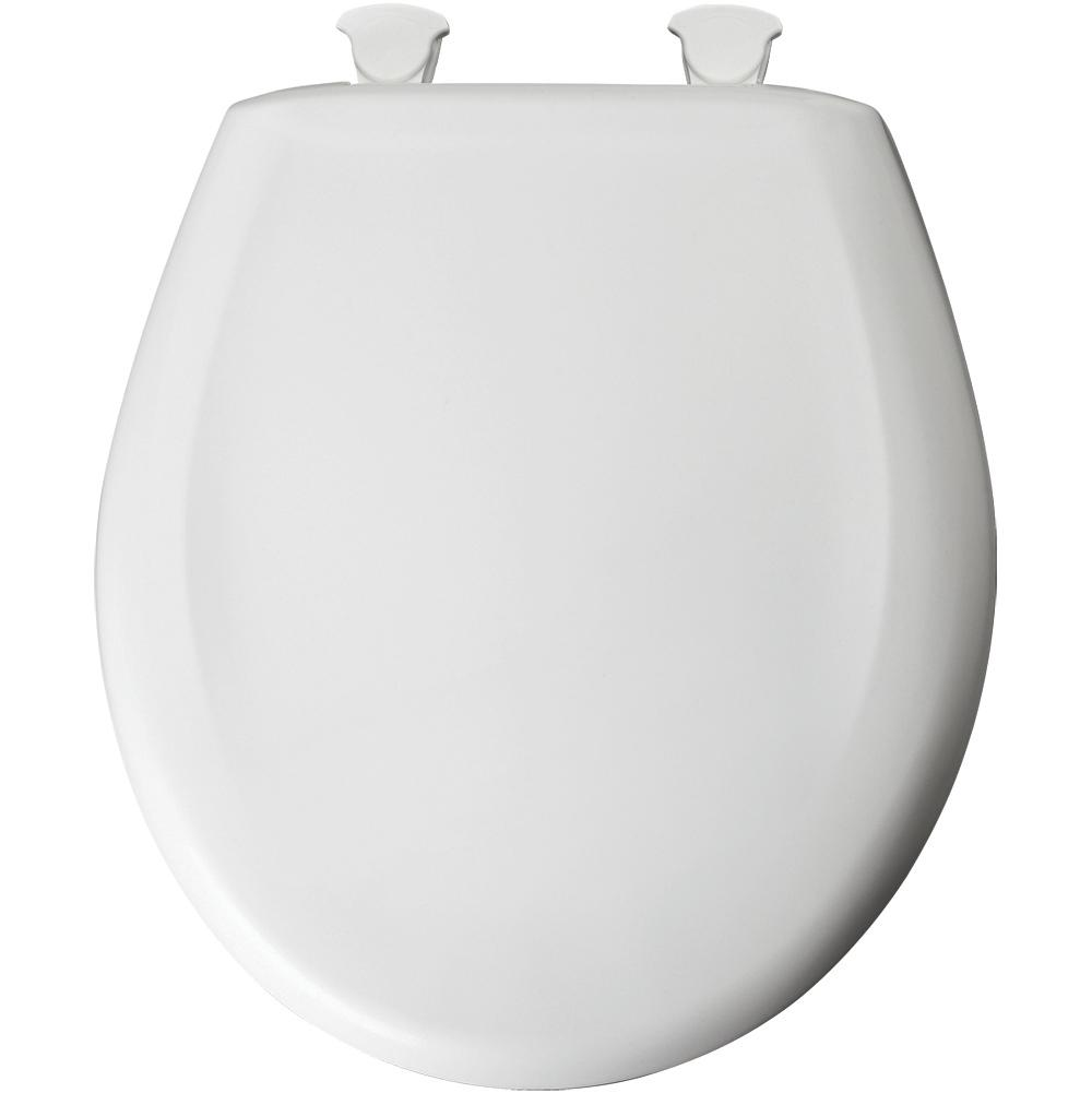 Bemis Round Toilet Seats item 7B200SLOWT 000
