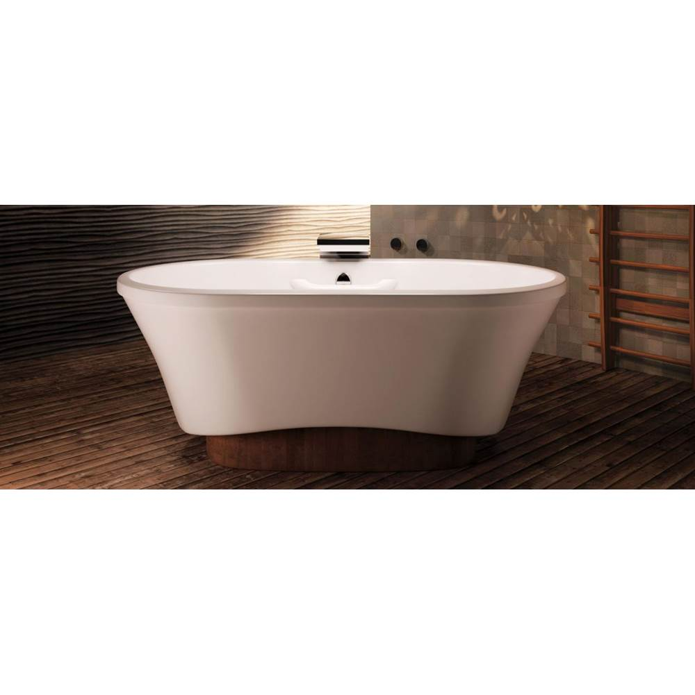 Bain Ultra Free Standing Air Bathtubs item AMMA OVAL 7242 Freestanding