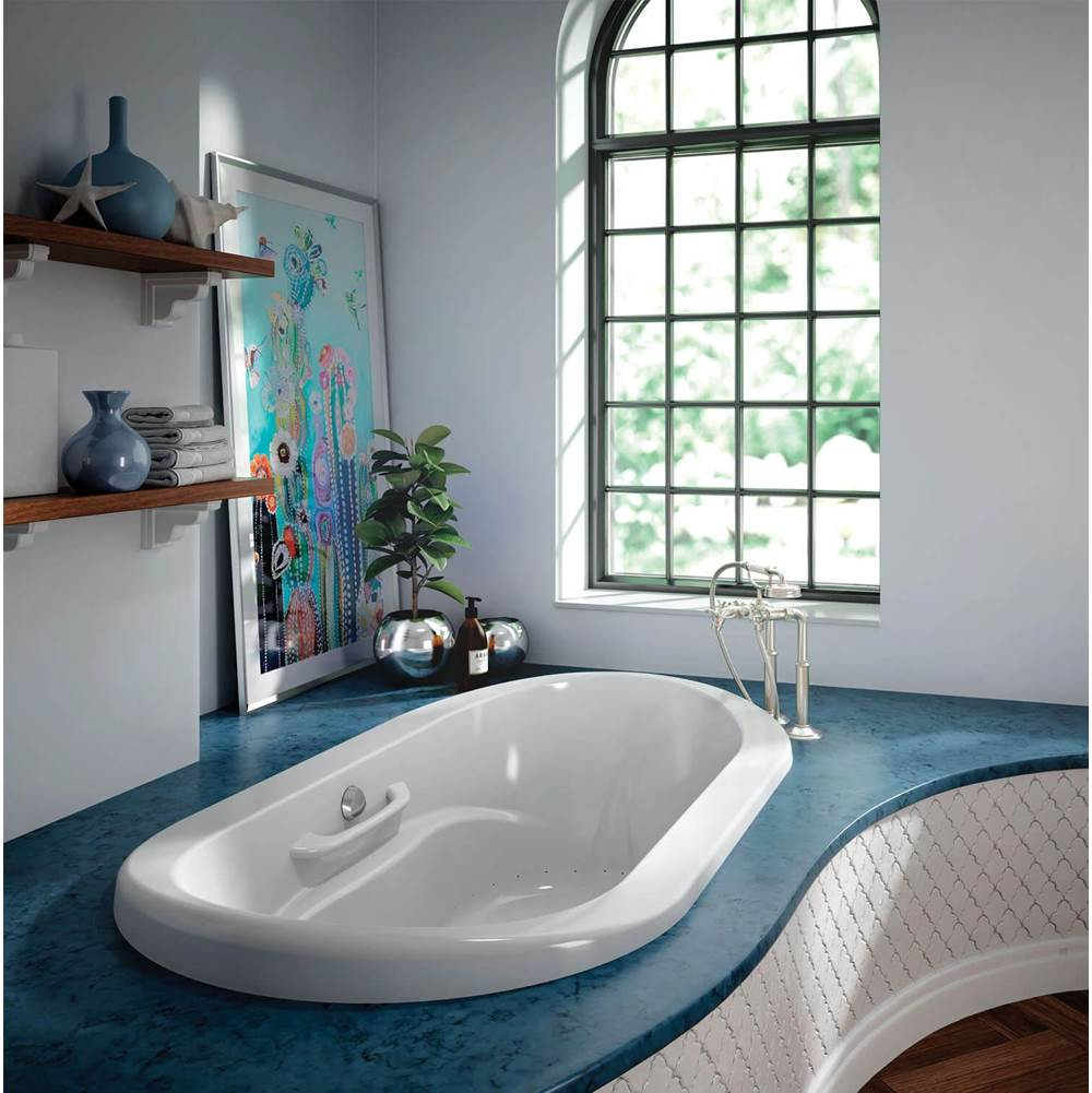 Bain Ultra Drop In Air Bathtubs item AMMA OVAL 7242