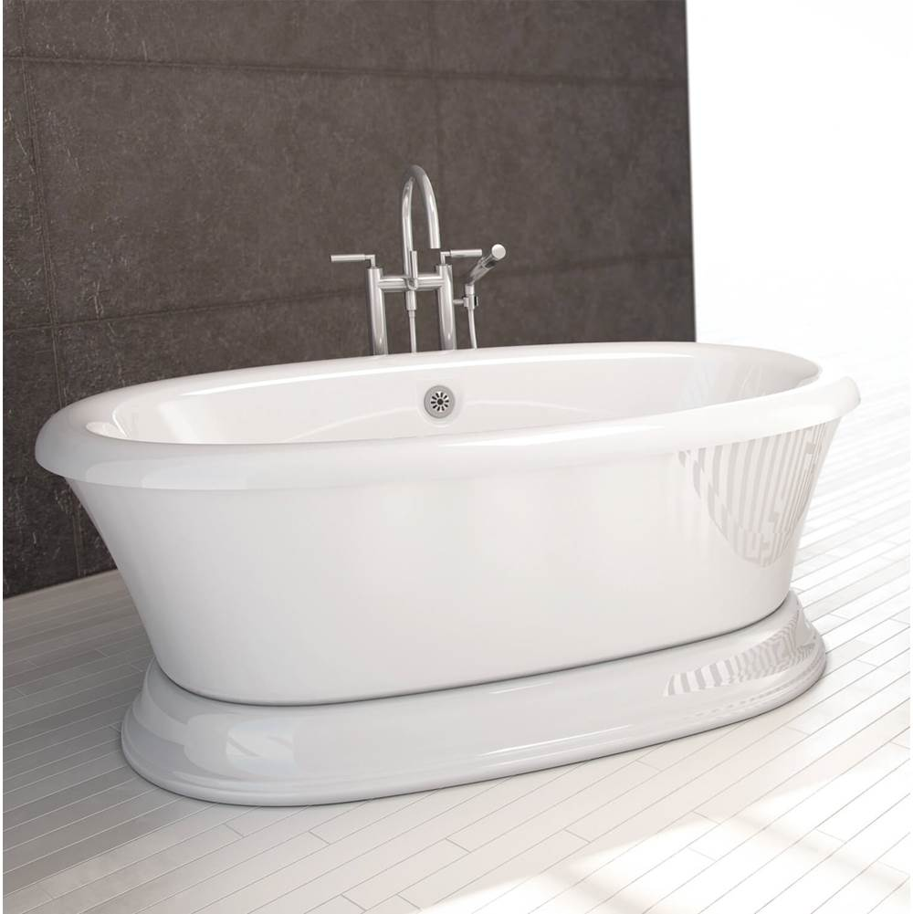 Bain Ultra Free Standing Air Bathtubs item BBNUOFP0T-01