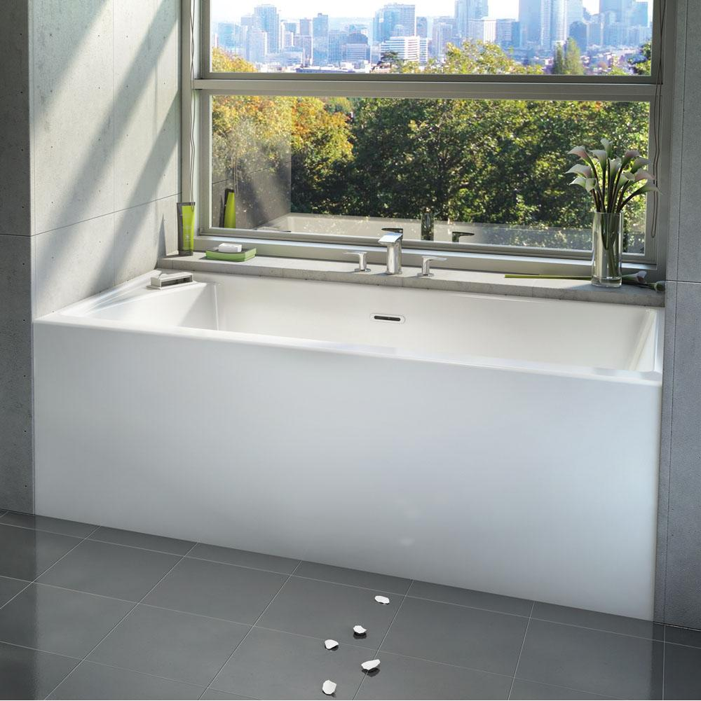 Bain Ultra Three Wall Alcove Air Bathtubs item CITTI 6032 with insert