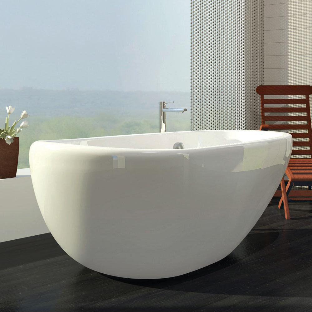 Bain Ultra Free Standing Air Bathtubs item ESSENCIA OVAL 7236 Freestanding