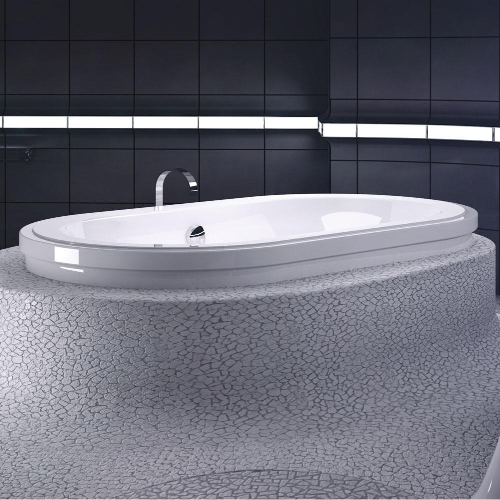 Bain Ultra Drop In Air Bathtubs item ORIGAMI OVAL 7242 Countour