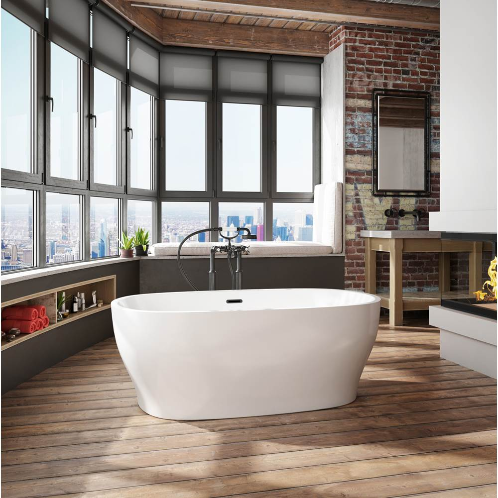 Bain Ultra Free Standing Soaking Tubs item BVIAOF00N-66