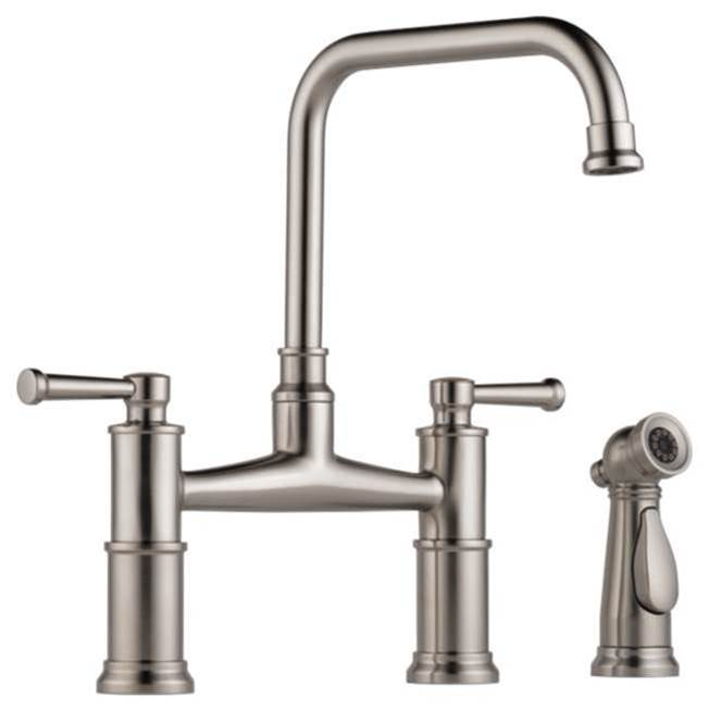 Brizo Bridge Kitchen Faucets item 62525LF-SS