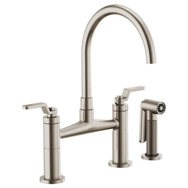 Brizo Deck Mount Kitchen Faucets item 62544LF-SS