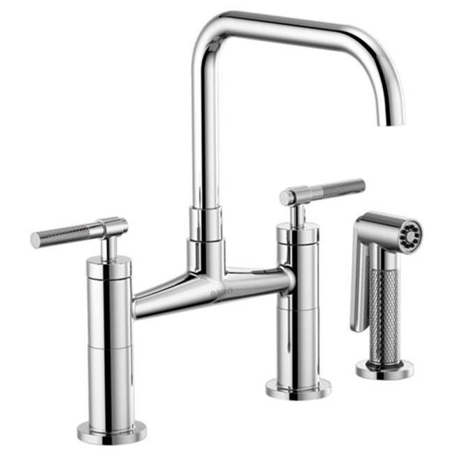 Brizo Bridge Kitchen Faucets item 62553LF-PC