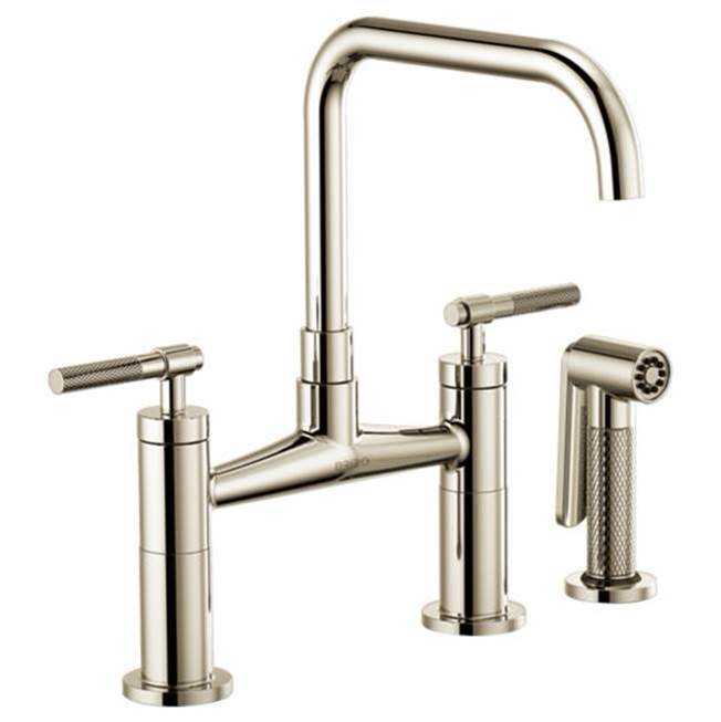 Brizo Bridge Kitchen Faucets item 62553LF-PN