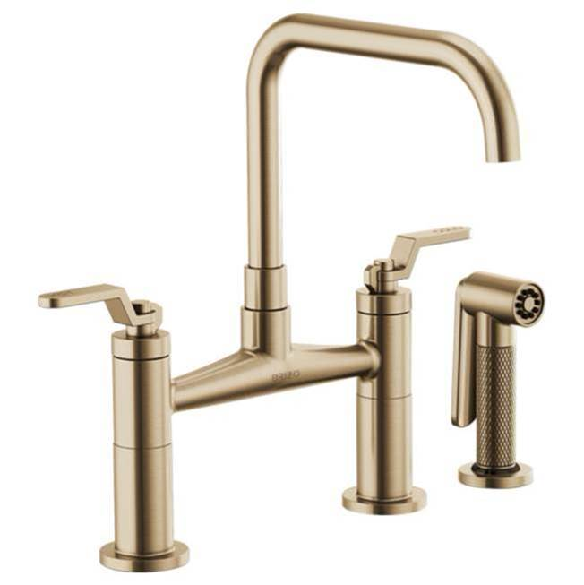 Brizo Bridge Kitchen Faucets item 62554LF-GL